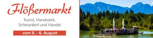 Flößermarkt in Lechbruck am See