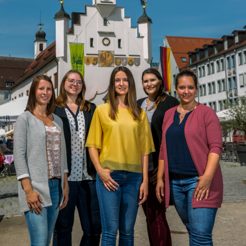 Das Team der Tourist-Info Kempten
