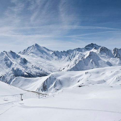 Silvretta Arena Samnaun Winteraufnahme