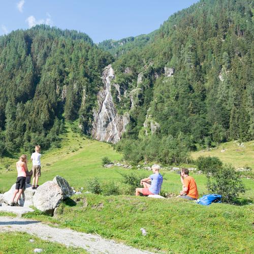 Untersulzbach-Wasserfall