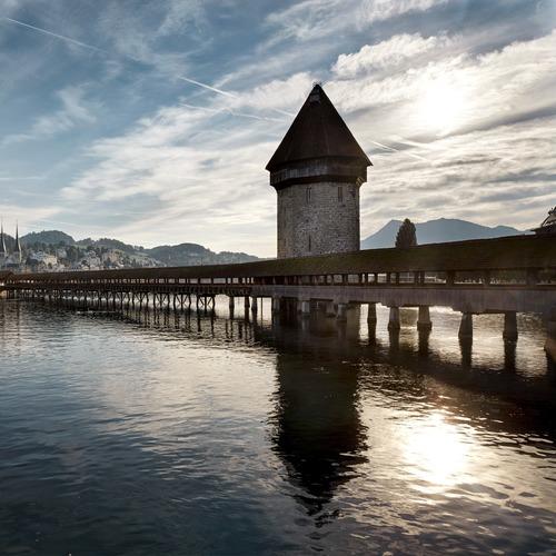 Kapellbrücke mit Wasserturm