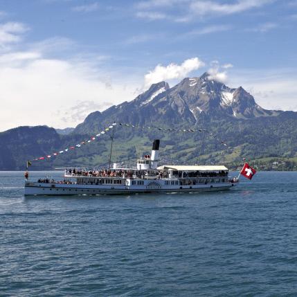 Schifffahrt Vierwaldstättersee Nidwalden