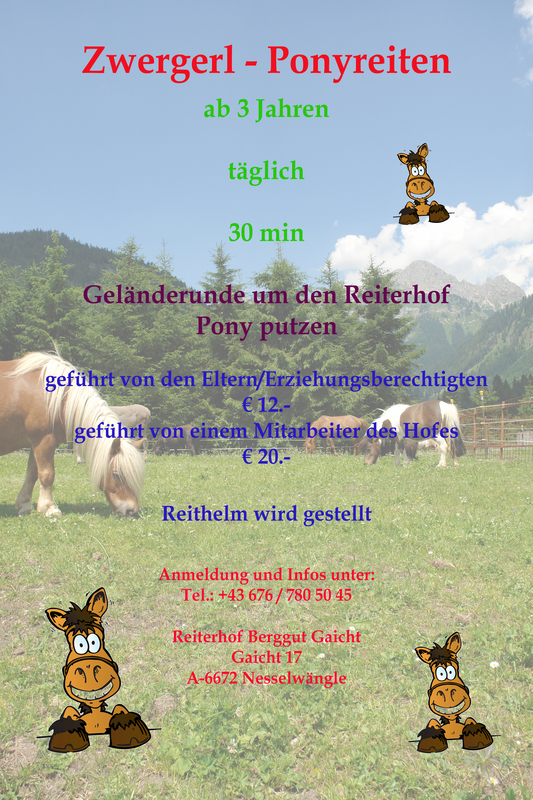 Reiterhof Berggut Gaicht