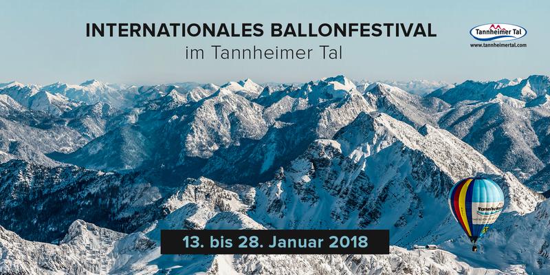 Ballonfestival Tannheimer Tal 2018