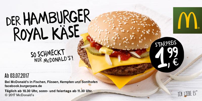 Hamburger Royal Käse