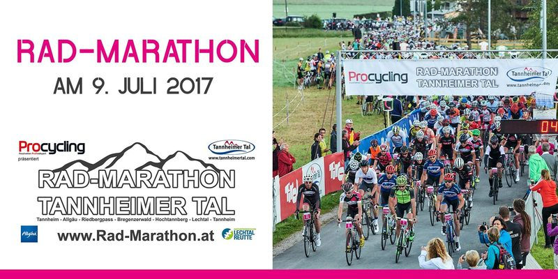 Rad-Marathon Tannheimer Tal 2017