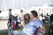 Rad fahren am Bodensee