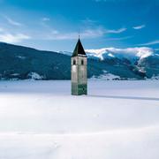Vinschgau im Winter