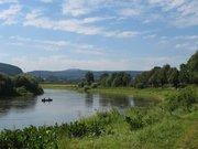 Kanufahren auf der Weser