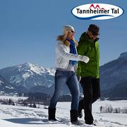 Winterspaziergang im Tannheimer Tal