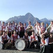Sommerkonzert der Trachtenkapelle Harmonie Mittelberg