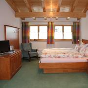 ein Schlafzimmr Wohnung Carola