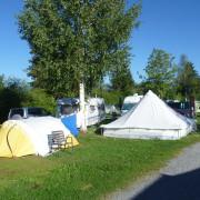 Campingplatz-Zeltwiese