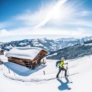 Traumhafter Wintertag und perfekte Aussicht
